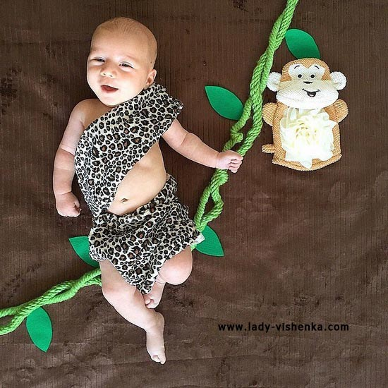 Costume for baby - Tarzan