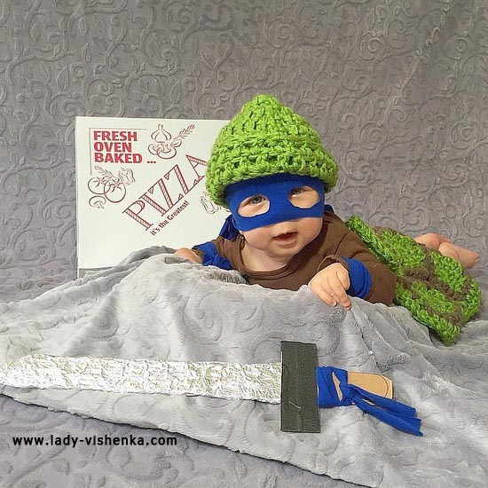 Costume for baby - Turtle - Ninja