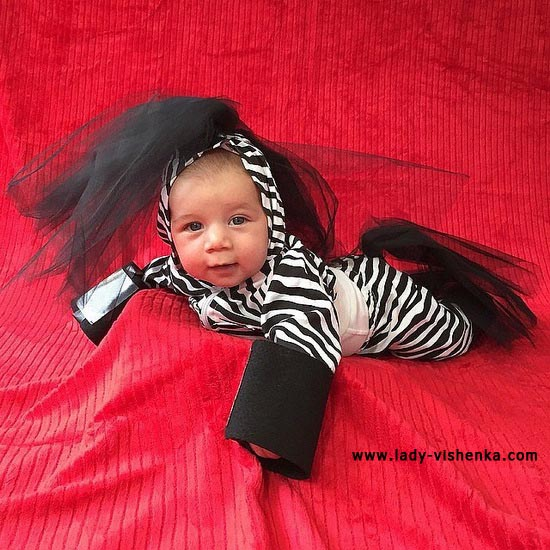 Costume for baby - Zebra