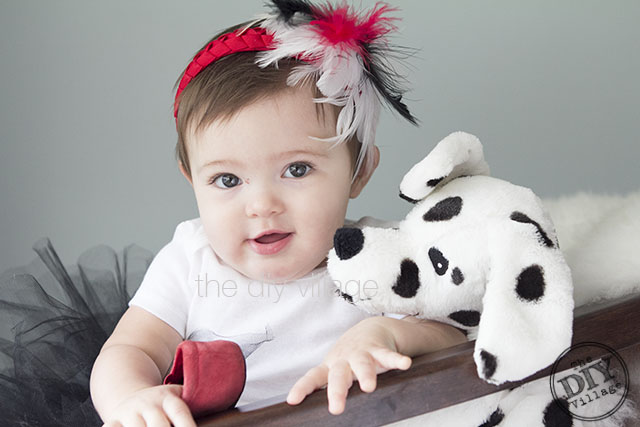 costume for baby cruella de ville