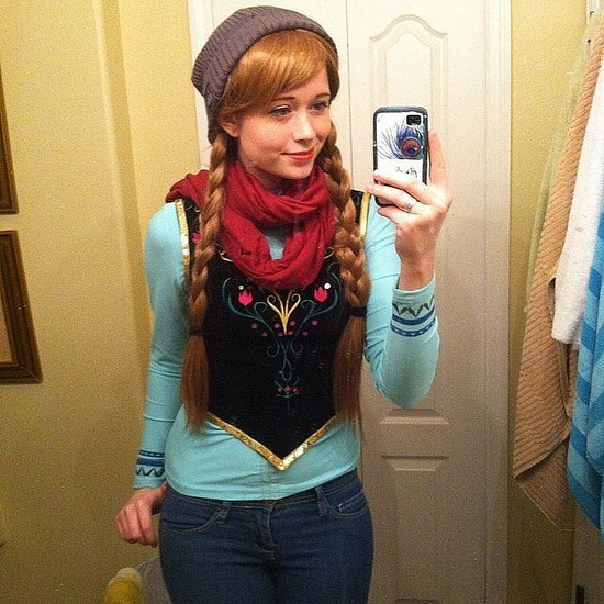 26. Halloween costumes Frozen - Anna, Elsa, Olaf