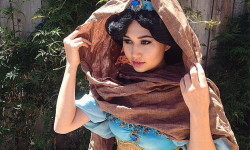 Princess Jasmine costume - diy