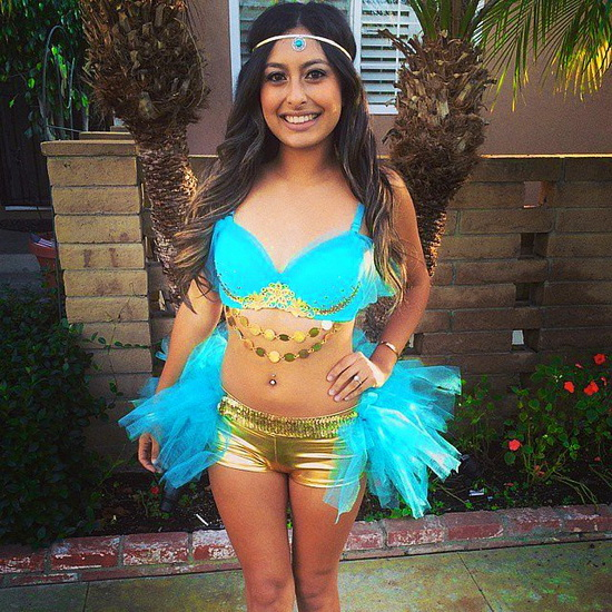Jasmine Hallowen Costume - Disney Princess