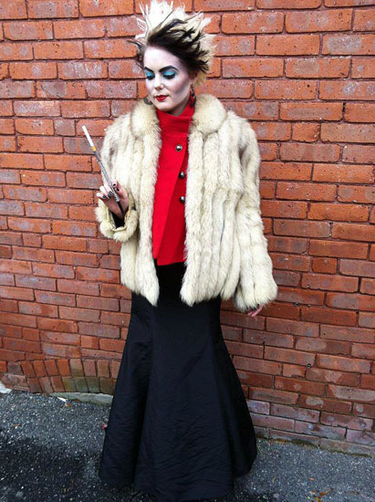 Cruella Deville costume ideas