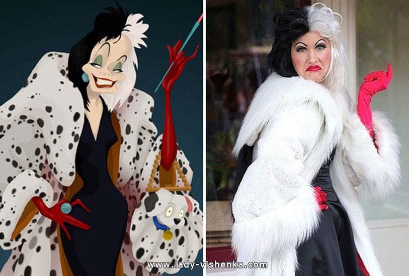 All Halloween costume ideas. Cruella de Ville  sc 1 st  Halloween u0026 DIY & Cruella de Vil Halloween costume