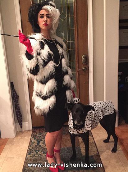 Adult Cruella Deville costume