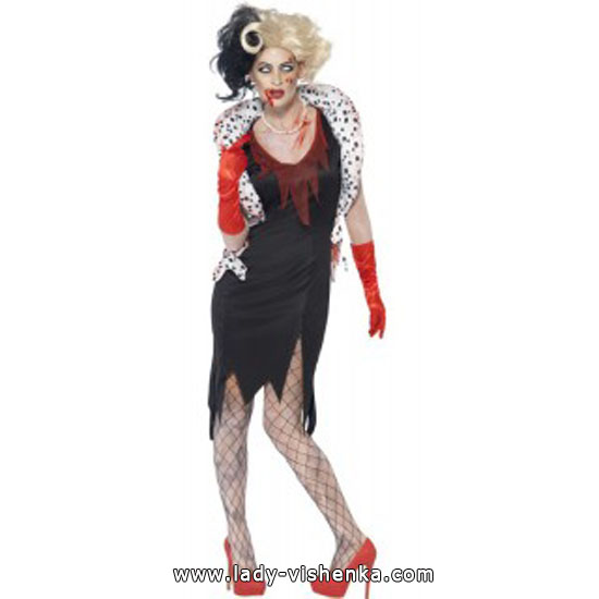Cruella de Vil dress