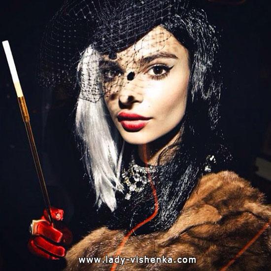 Cruella de Vil costume diy