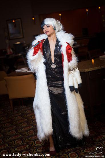 Cruella Deville costume coat