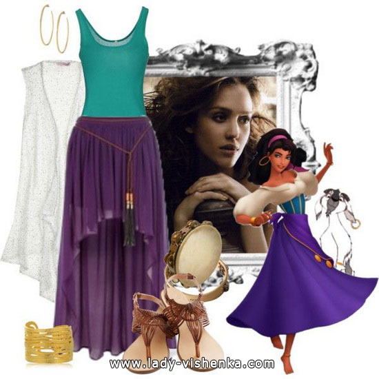 Esmeralda Halloween Costume for adults