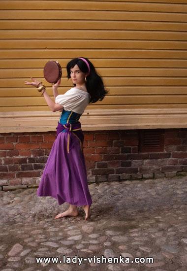 Women's Esmeralda Halloween Costume