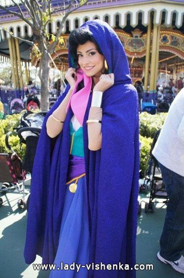 Halloween - Esmeralda costume for adults