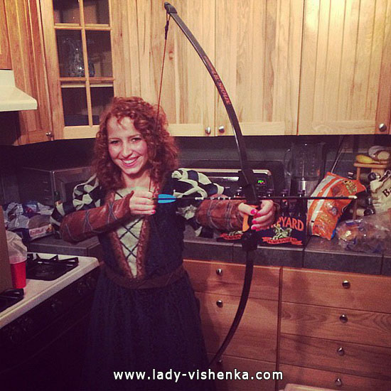 Halloween costumes - Merida