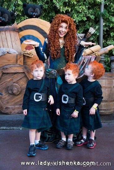 merida brave costume pattern