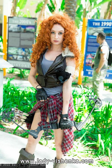 merida costume diy