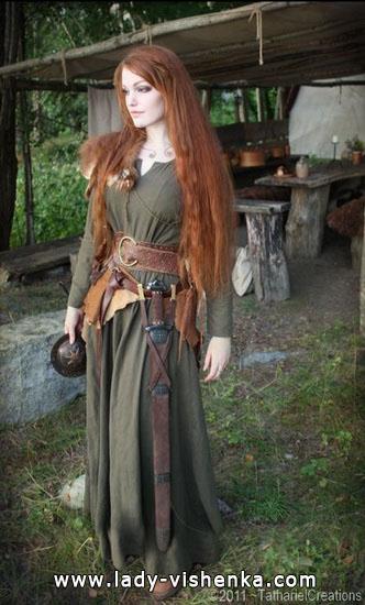 Мерида - образ для девушки на Хэллоуин