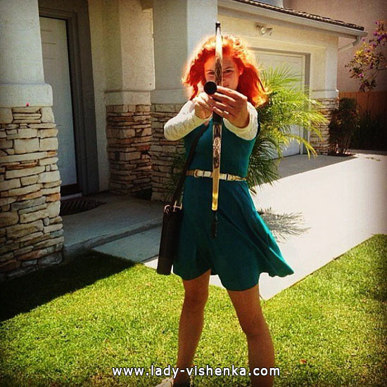 merida brave costume for adults