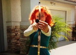 Merida Halloween costume