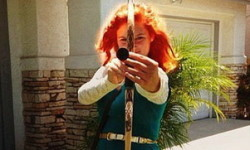 Halloween costume idea - Merida