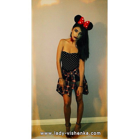 Minnie Mouse costume - Zombie