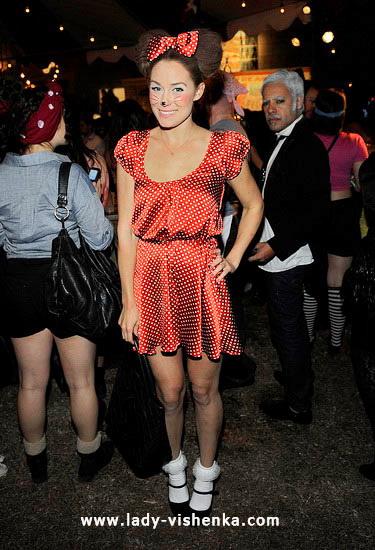 women's minnie mouse Halloween Costume
