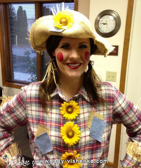Women's Scarecrow Halloween costume
