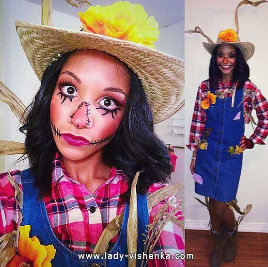 Halloween scarecrow costume - adult