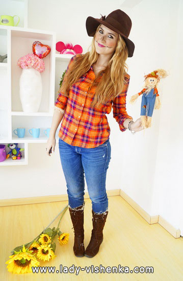 Women's Scarecrow costume