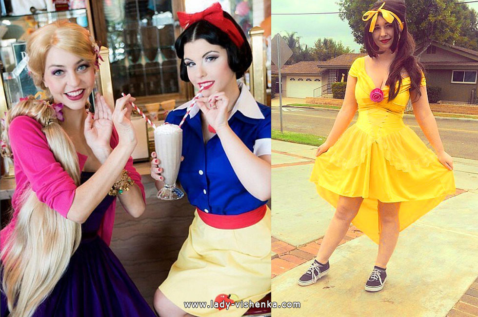 Snow White and Belle Costumes