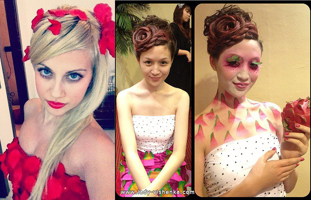 Rose and Fruit Costumes