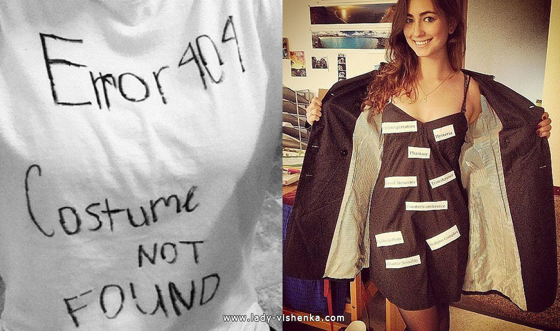 Costume Not Found and Freudian slip Costume