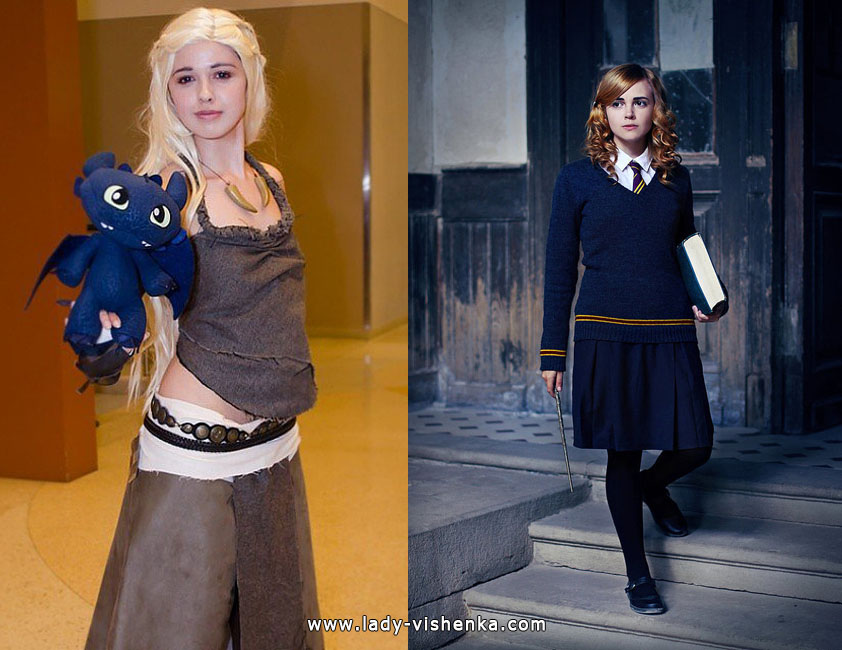 Astrid and Hermione Costumes