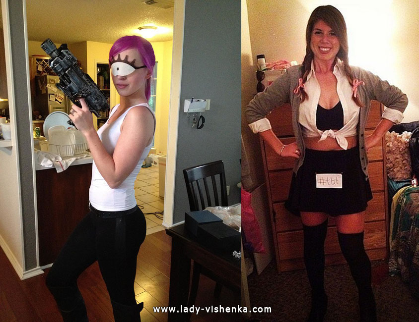Leela and Britney Spears Costumes