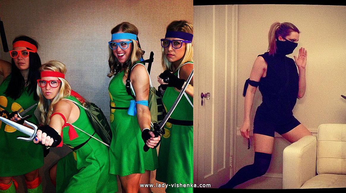 Ninja Turtles and Ninja Turtles costumes