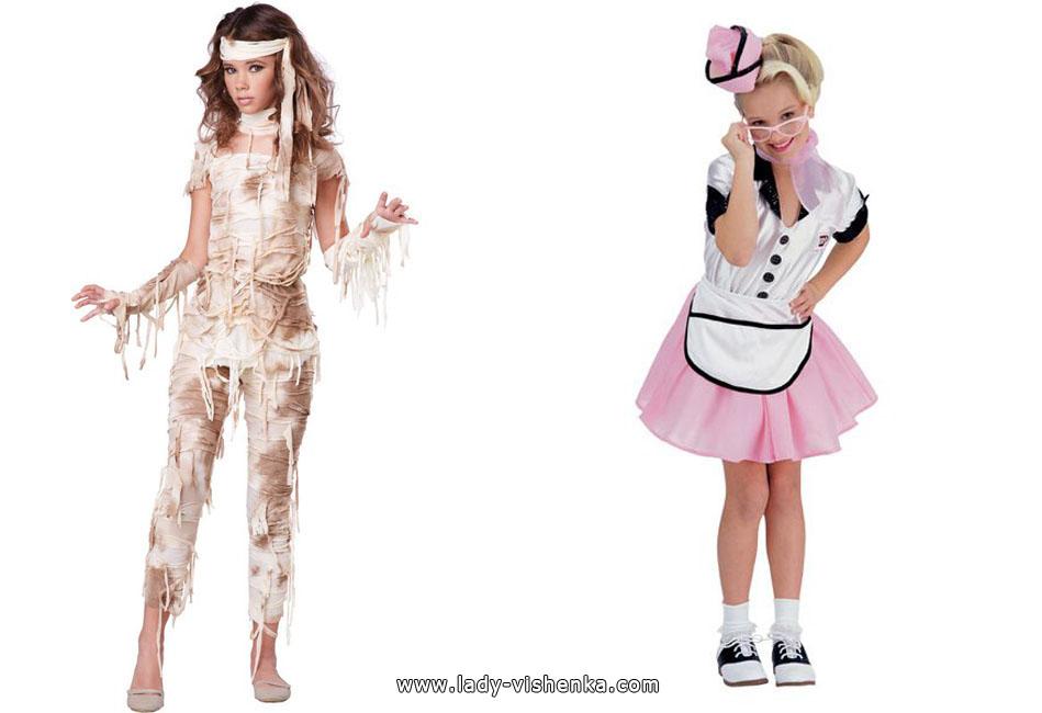 Mummies and Nurses Costumes