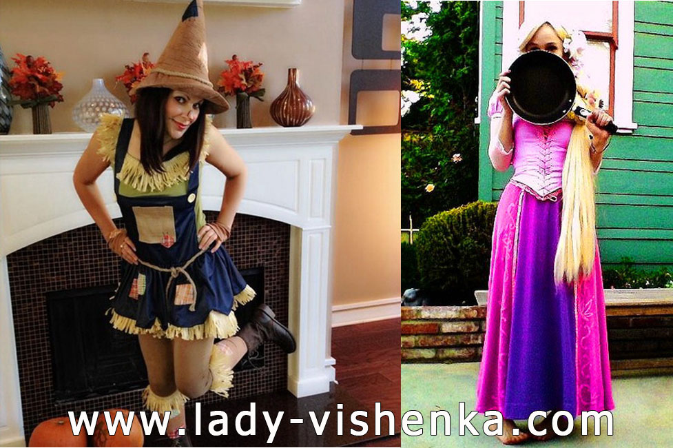 Scarecrow and Rapunzel Costumes