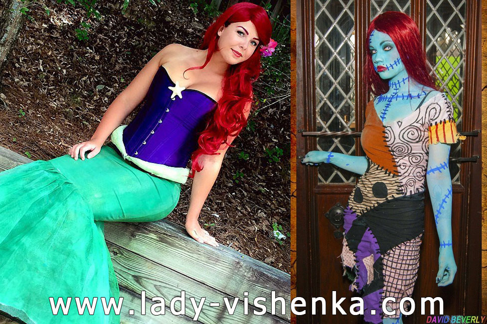 Mermaid and Seventh Costumes