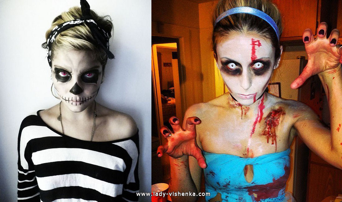 Skeleton and Zombie Costumes