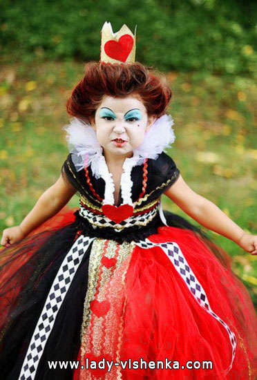 Halloween costumes for kids / girls - Queen of Heart
