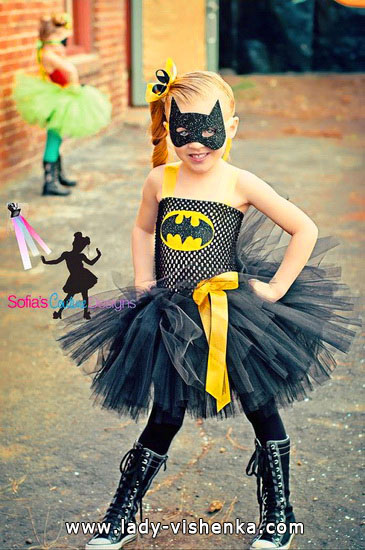 Halloween costumes for kids / girls - Batmen girl
