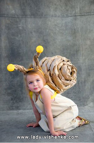 Halloween costumes for kids / girls - Snail