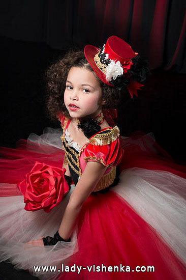 Kids Halloween - Queen of Heart costume