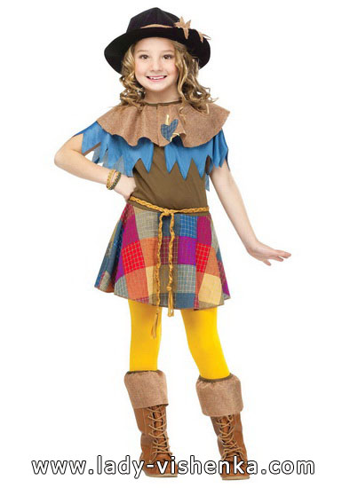 Halloween costumes for kids / girls - Scarecrow