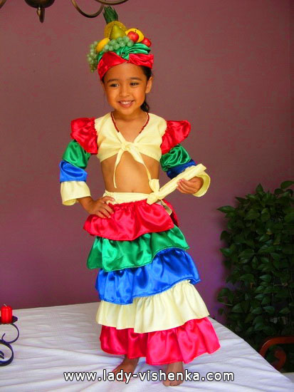 Halloween costumes for kids / girls - African girl