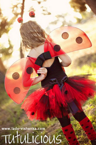 Halloween costumes for kids / girls - Ladybug