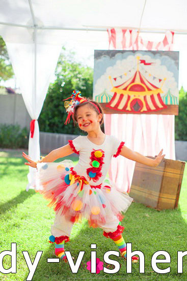 Halloween costumes for kids / girls - Clown