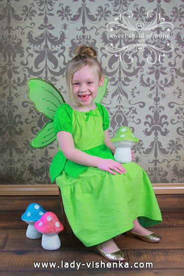 Kids Halloween - Forest Fairy costume
