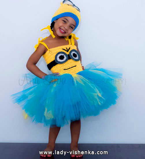 Kids Halloween - Minion costume