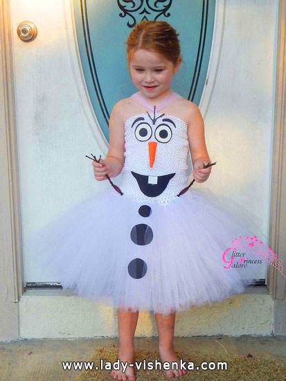 Halloween costumes for kids / girls - Olaf