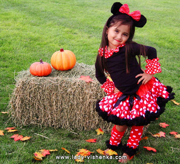 Kids Halloween - Minnie Mouse costume